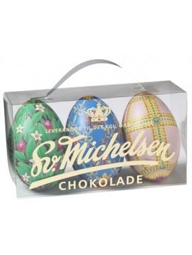 Sv. Michelsen Fabergé æg  3 stk. i æske
