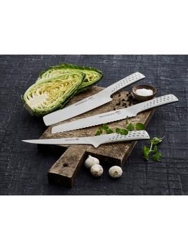 Weber Gavepakke med stor grøntsagskniv, udbenerkniv og brødkniv.-20