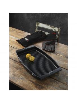 Weber Stegefad og læder grillhandsker-20