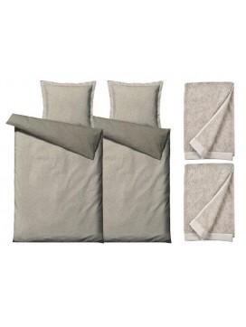 Södahl Sengesæt Balance 200 cm og håndklæder Comfort organic-20