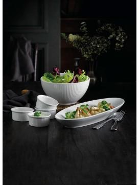 Pillivuyt Plisse Skål, Serveringsfad og Ramekiner-20