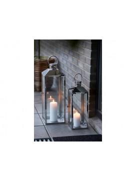 Villa Collection Lanternesæt, stål og glas-20