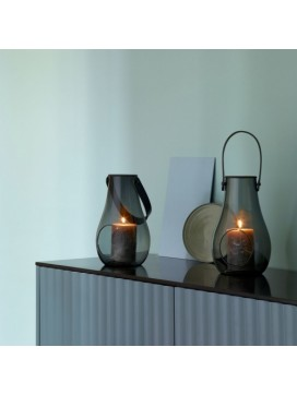 Holmegaard Design with Light Lanterner, smoke-20
