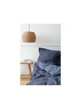 Södahl Satinvævet Sengetøj Balance i Indigo blå, 220 cm-20