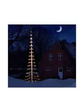 Scandinavia Gifts Juletræs lyskæde til 8 m Flagstang-20
