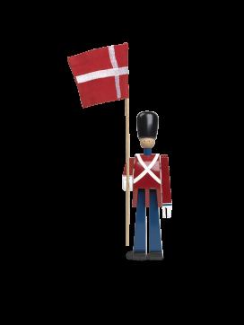 Kay Bojesen Fanebærer med tekstilflag-20