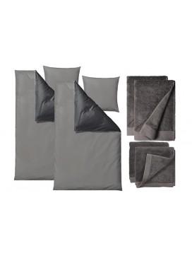 Sôdahl Sengetøj i 220 cm, soft colour med håndklæder, Comfort-20