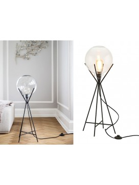 A Simple Mess Knold Lampe i sort-20