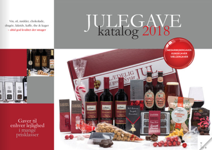 Julegavepakker med Vin, Øl, chokolade m.v.